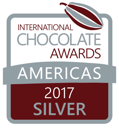 """International Chocolate silver award in the """"Milk Chocolate Bars with a Filling"""""""